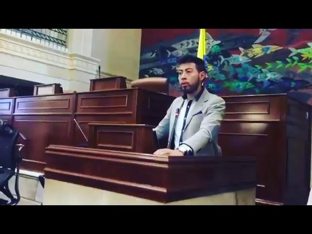 Intervención Andrés Nieto en Congreso de la República de Colombia