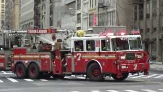 Fire Department New York responding
