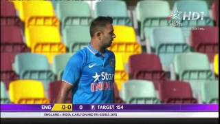 Carlton Mid ODI Tri Series 2015 M03 India vs England Highlights
