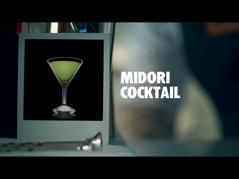 MIDORI COCKTAIL DRINK RECIPE - HOW TO MIX