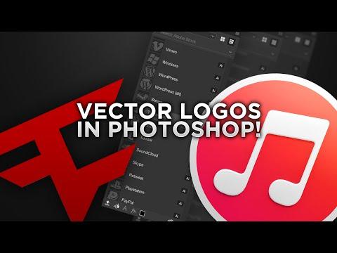 Vector Social Media Logos in Photoshop! | BazDZN