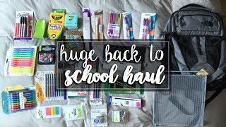 HUGE back to school SUPPLIES HAUL 2017 ! // Cass Kinling