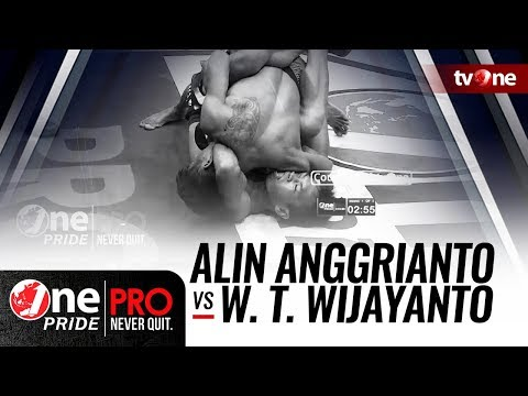 [HD] Alin Anggrianto vs Wahyu Tri Wijayanto || One Pride Pro Never Quit #25 Mp3