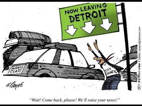Black People to Blame for Detroit?