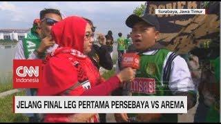Keseruan Bonek Jelang Final Leg I Persebaya Vs Arema | Piala Presiden 2019
