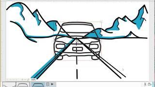 Car Moving Morph Trick