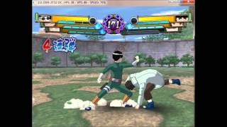 (Pc)Dolphin 2.0 Gameplay : Naruto Gektious Ninja Taisen! 4: Team Kurenai vs Team Gai!