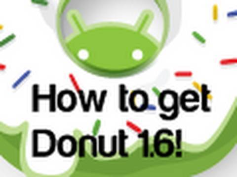 How to get Donut 1.6 Update on your Android T-mobile G1 (OFFICIAL UPDATE) NO ROOTING!!!