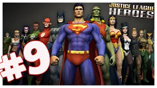 Justice League Heroes (PS2) Part 9 Superman Saves Mars! co-op
