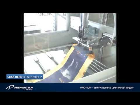 Automatic bagging machine | Open-mouth bagger (OML-600 Series)