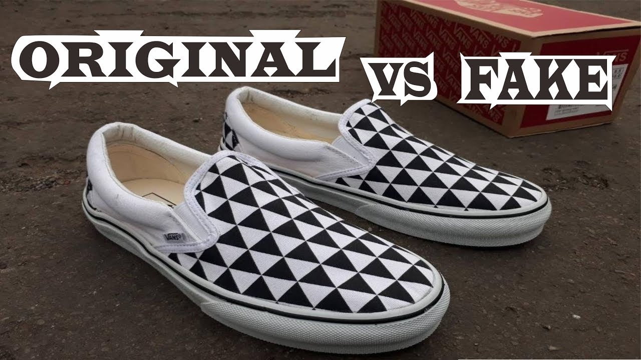 "9588bebe06 Sneakersnstuff x Vans OG Classic Slip-On LX ""Stockholm"" Original   Fake"