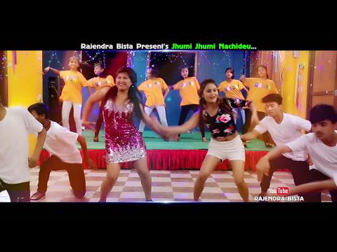 new-nepali-lok-pop-dancing-song-||-jhumi-jhumi-nachideu-||-rajendra-bista-l-|-official-video-song