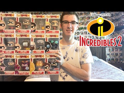 Entire Set of Incredibles 2 Funko Pops!