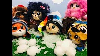 BAJKA GANG SŁODZIAKÓW  Słodziaki  Bitwa śnieżkami  ❄️❄️⛄️❄️❄️❄️