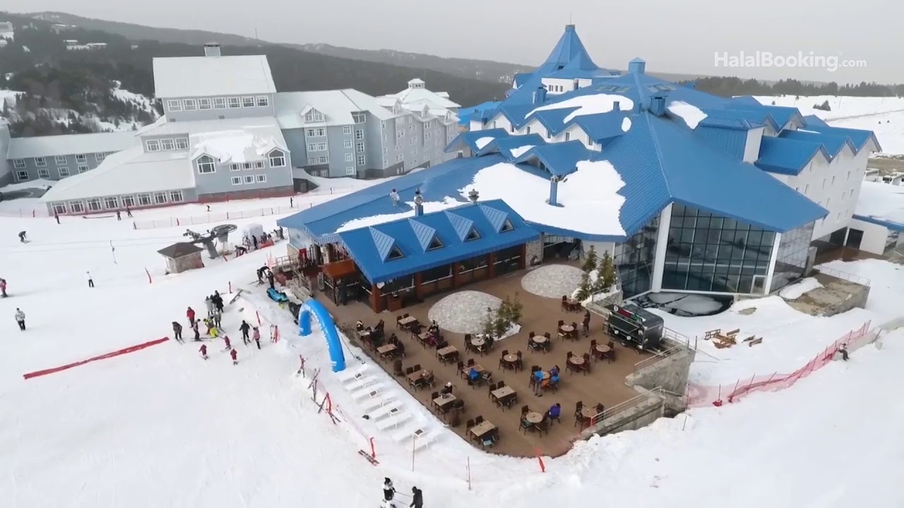 🎿bof uludag: du ski en mode halal-friendly à bursa en turquie - youtube