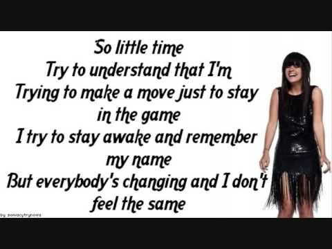 Lily Allen - Everybody's Changing    [lyrics]