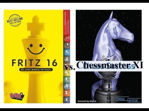 Battle Of OLD Vs. NEW:  CHESSMASTER GRANDMASTER EDITION  Vs. FRITZ 16   Game1