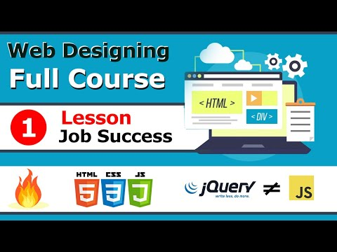 Free Web Design Course Overview In Hindi 2020! How To Work In Professional Career Lesson 1.