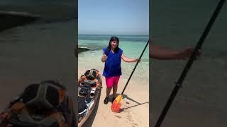 On vacation 🌊 #shorts تبون فلوق بالشاليه؟🤩