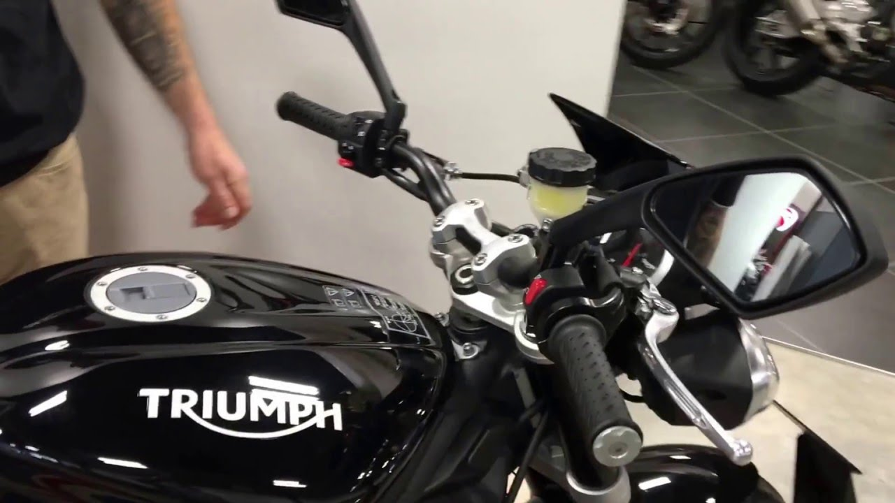 2016 Triumph Street Triple Rx Abs Stock 2338 Youtube