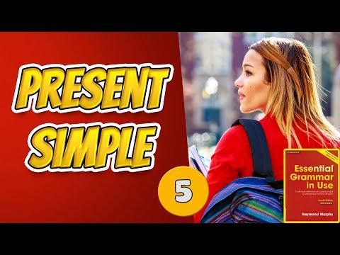 #5 Строим предложения в настоящем простом времени Present Simple  Мёрфи красный