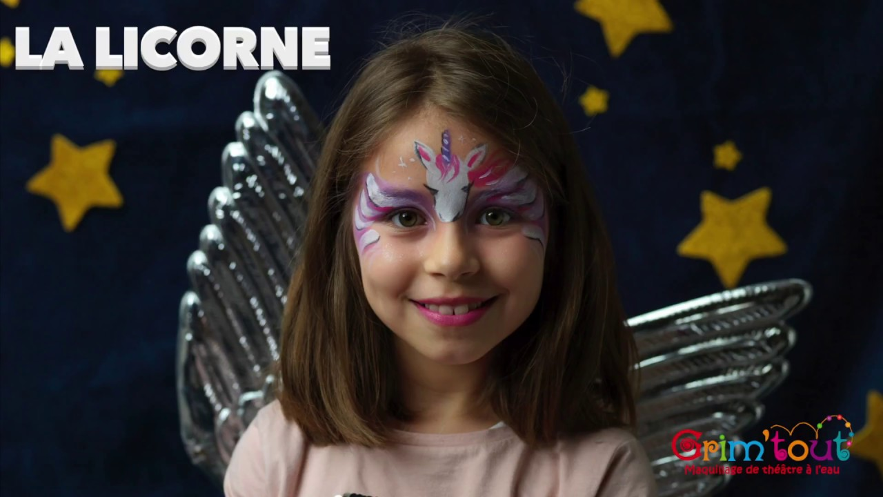 Maquillage enfant Licorne