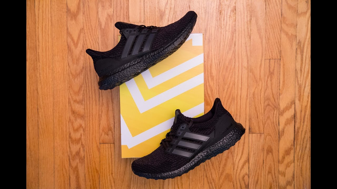 hot sale online 2086c a9fd7 Triple black but not really    Adidas Ultra Boost 3.0 Triple Black Review  and On Feet