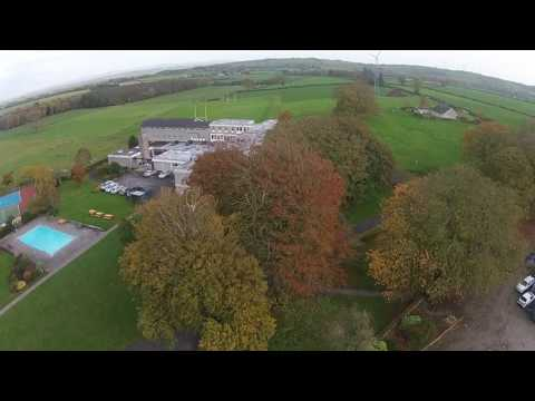 Gurteen College, Ireland  Drone's Eye View Agricultural and Equine Courses