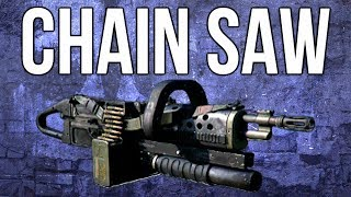 Ghosts In Depth - Chain SAW LMG Guide (Chainsaw is Hilarious)