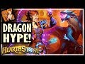 DRAGON MAGE LIVES UP TO THE HYPE Rise Of Shadows Hearthstone mp3