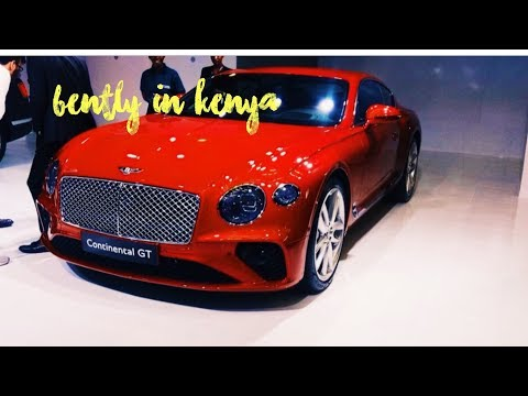 40 Million worth Bentley In Kenya||TOTAL MOTOR SHOW
