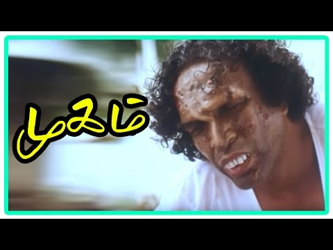 Mugam Tamil Movie | Climax Scene | Nasser wears mask again and accepted by all | End Credits