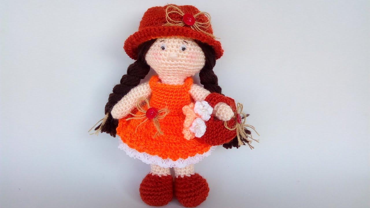 Bambola Amigurumi Uncinetto Tutorial Muñeca Crochet Doll Crochet
