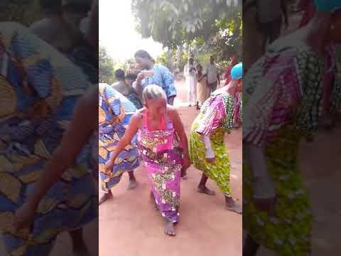 Ancient Yoruba dance in Ifonyin, Benin Republic