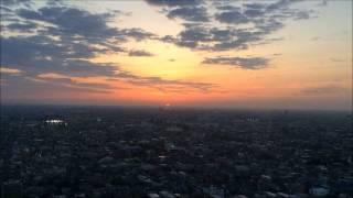 埼玉県川口市 エルザタワー55 45階からの日の出