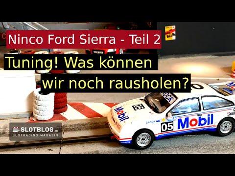 Ninco Ford Sierra Tuning – Teil 2 – Was geht noch?