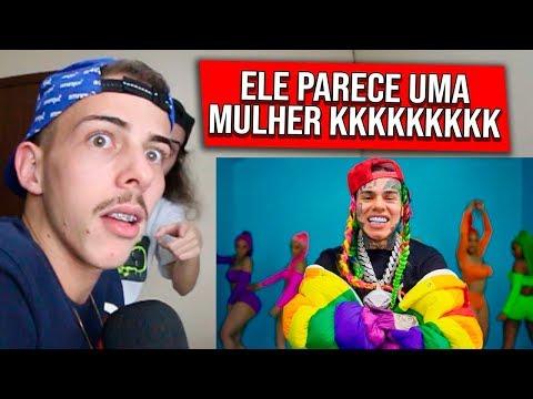 FÃ DE MATUÊ PRIMEIRA VEZ ESCUTANDO 6IX9INE- GOOBA (Official Music Video)