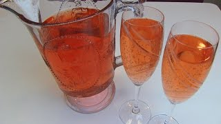 Betty's Mock Pink Champagne For New Year's Eve