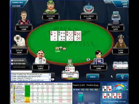 online poker tournament strategy
