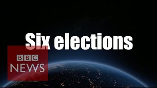 1 day, 6 elections, 106 million voters - BBC News