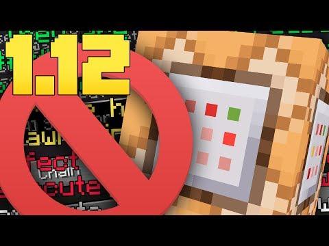 GOODBYE COMMAND BLOCKS...(Minecraft 1.12 Functions)