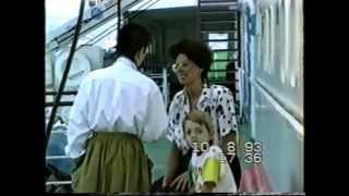 РЕТРО Как Молоды мы БЫЛИ  Ялта - Стамбул Т\Х Айвазовский семья НИКОЛАЕНКО 10.08.1993