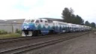 SOUNDER Commuter train #1505 in Kent, WA