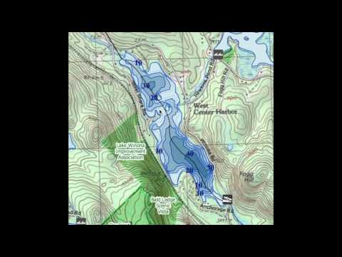 Finding Fish On A New Lake- Reading Contour Maps