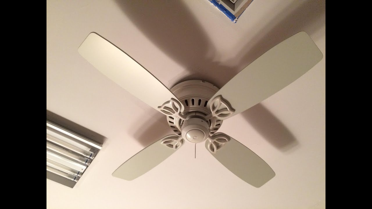 fans dp silver fan low ceiling anslee canada amazon matte hunter company with light profile