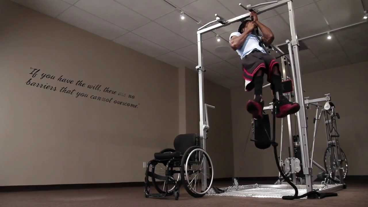 Wheelchair fitness solution™ smart training system for