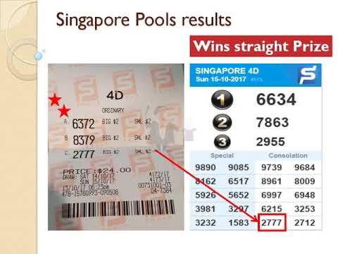 Singapore Pools 4D lottery Top prize winner, SGP 4D, Uncle