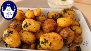 Kartoffeln im Backofen zubereiten, einfach und lecker