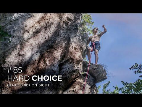 Adam Ondra #85: Hard Choice / Genezis 8b+ On-sight