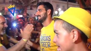 Celebración del ascenso del Cádiz CF a Segunda División A (27-06-16)